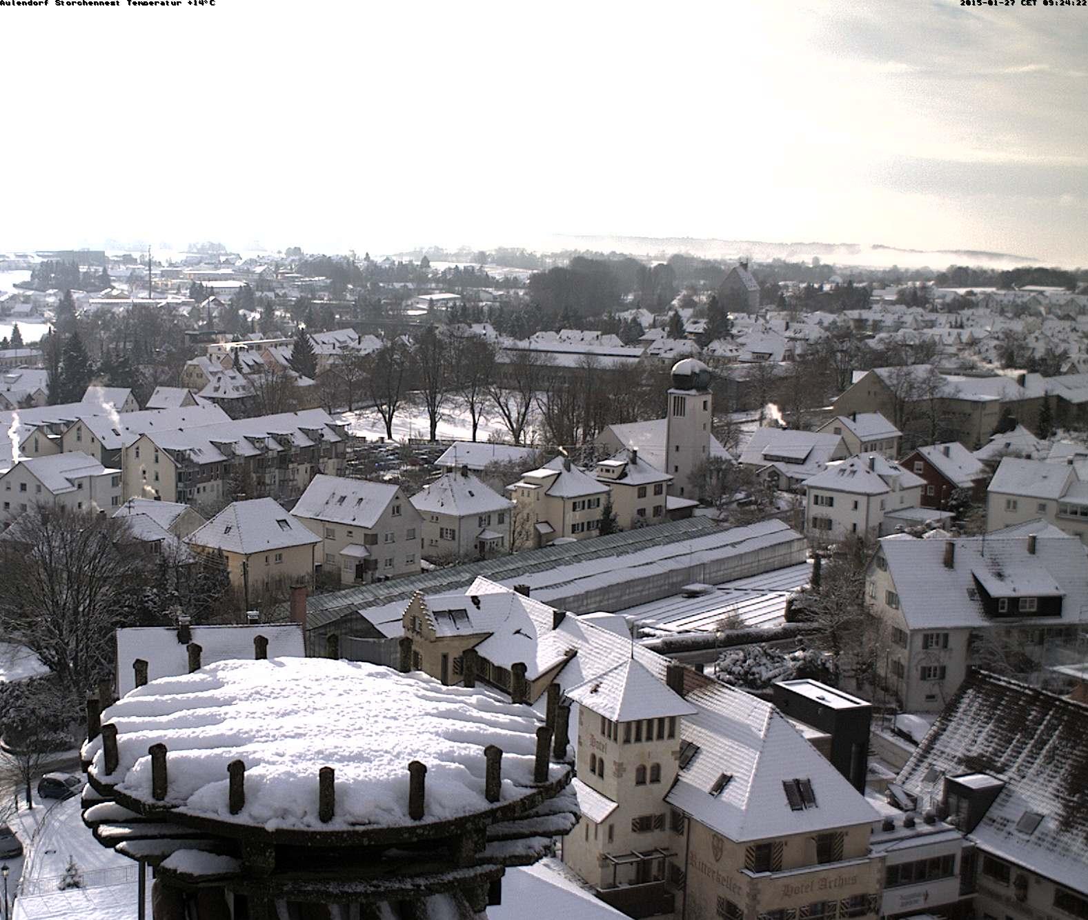 Aulendorf Skyline (and Stork Net)